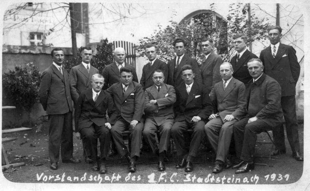 Vorstandschaft 1931