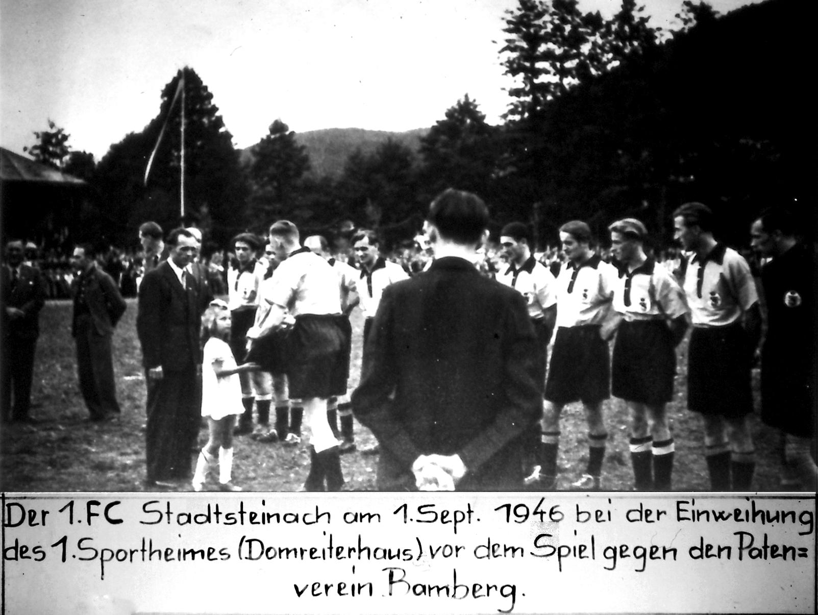 Eröffnungsspiel 01.09.1946